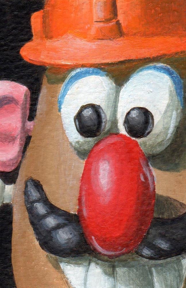 """Greetings"" original fine art by Debbie Shirley"