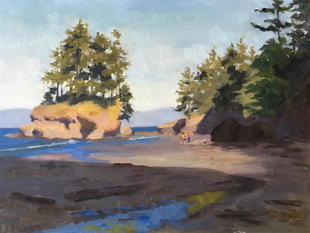"""Salt Creek Beach"" original fine art by Bhavani Krishnan"