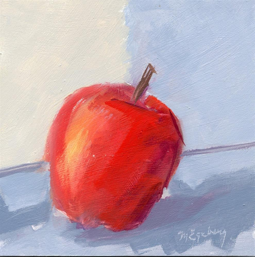 """Big Apple"" original fine art by Mitch Egeberg"