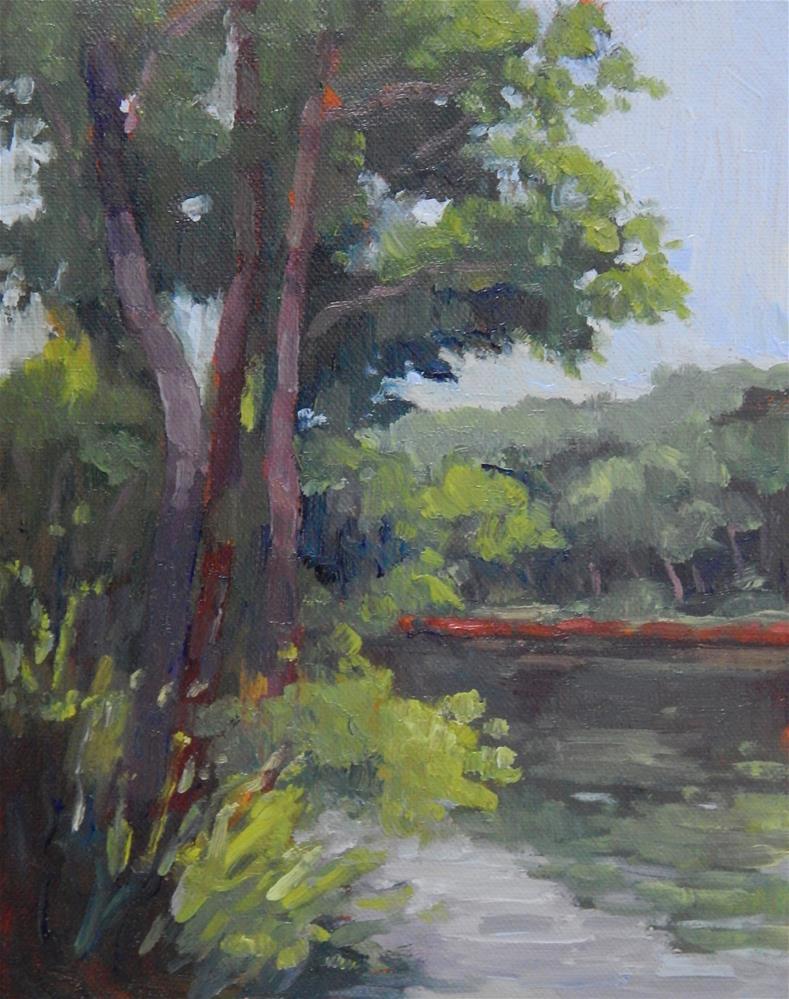 """Quiet Morning"" original fine art by Lisa Kyle"