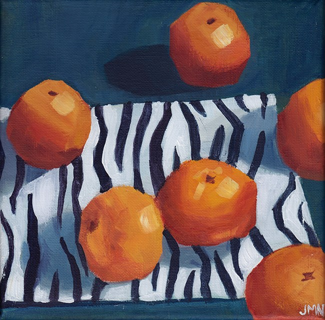 """Clementines: Safari"" original fine art by J M Needham"