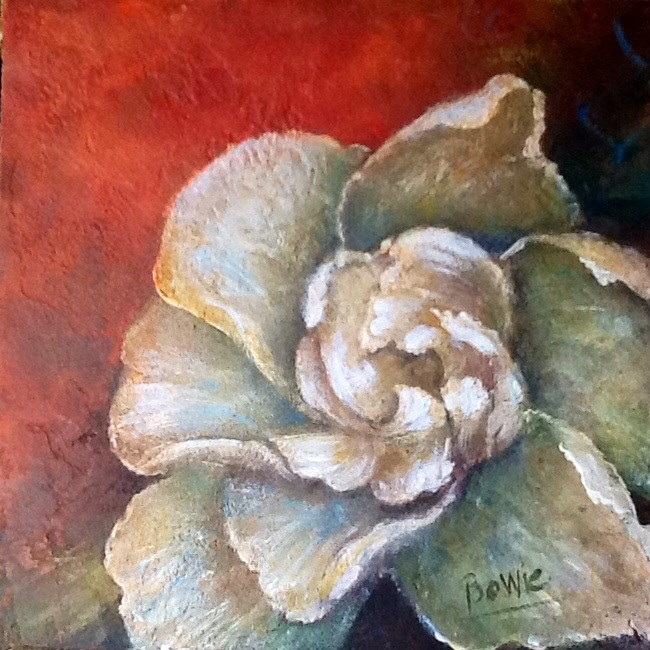 """Unfolding"" original fine art by Maureen Bowie"