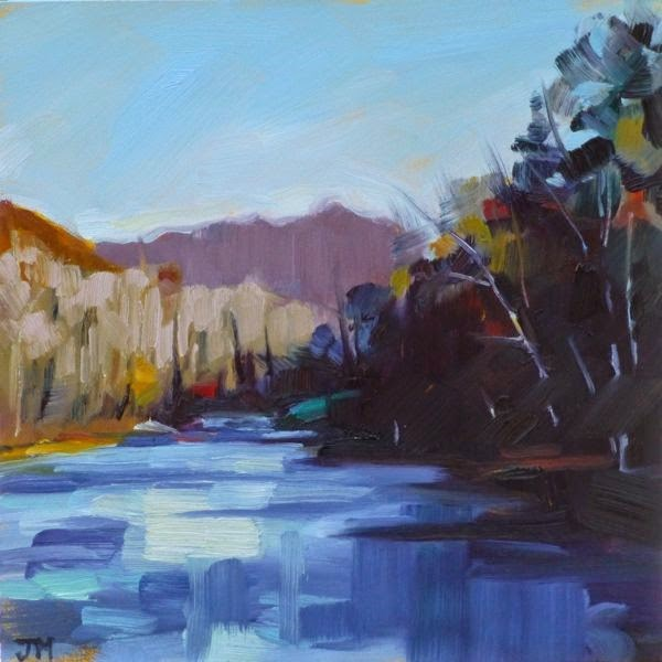 """Black Rock Park No. 6"" original fine art by Jessica Miller"