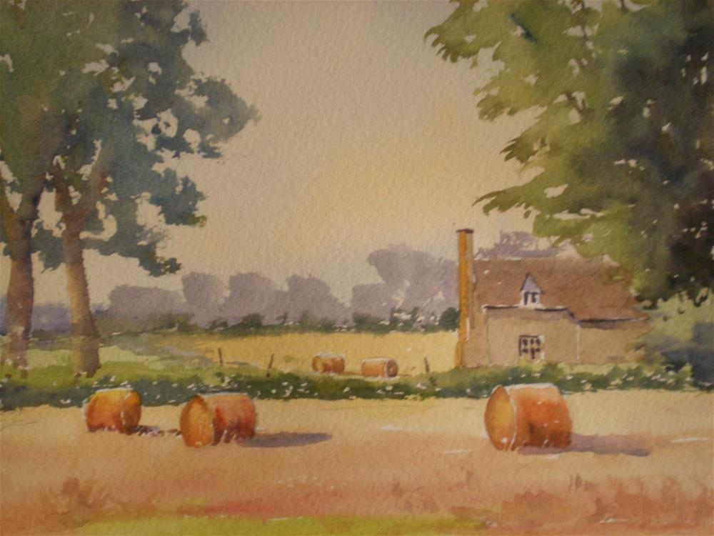 """A Summer's Day"" original fine art by Graham Findlay"