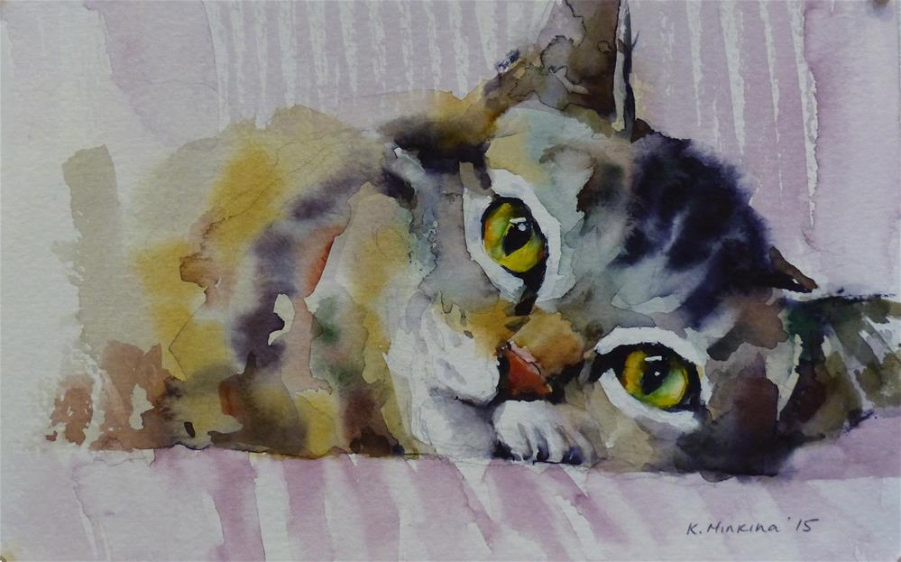 """adopt132"" original fine art by Katya Minkina"