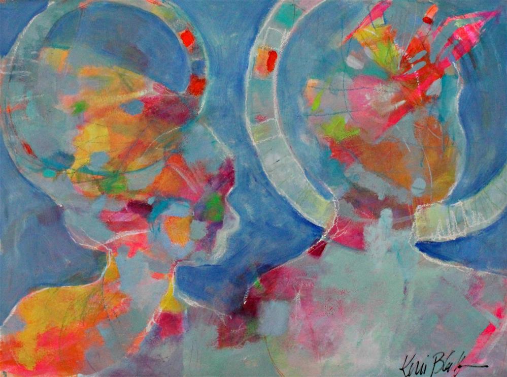 """Together "" original fine art by Kerri Blackman"