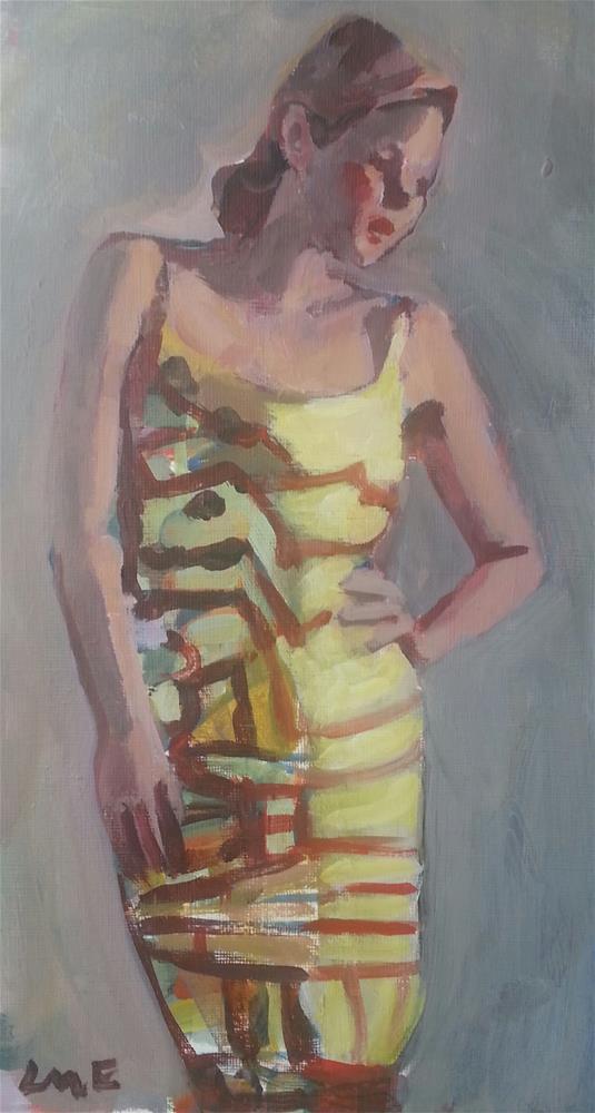 """""""Fashion figure#3"""" original fine art by Liz Maynes"""