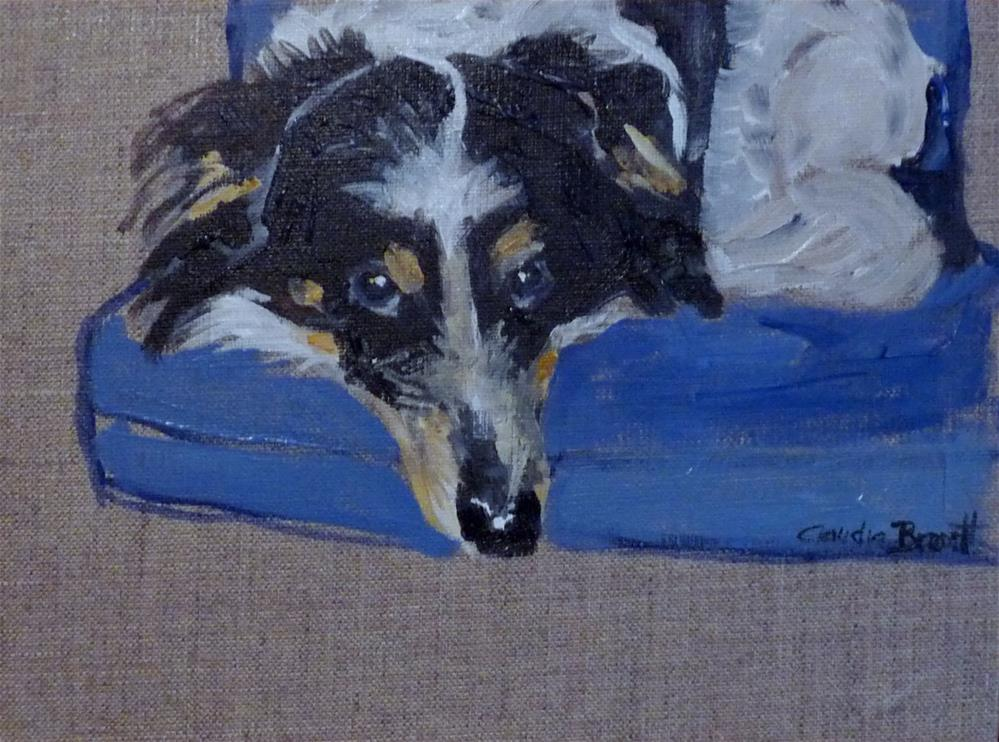 """dog"" original fine art by Claudia Brandt"
