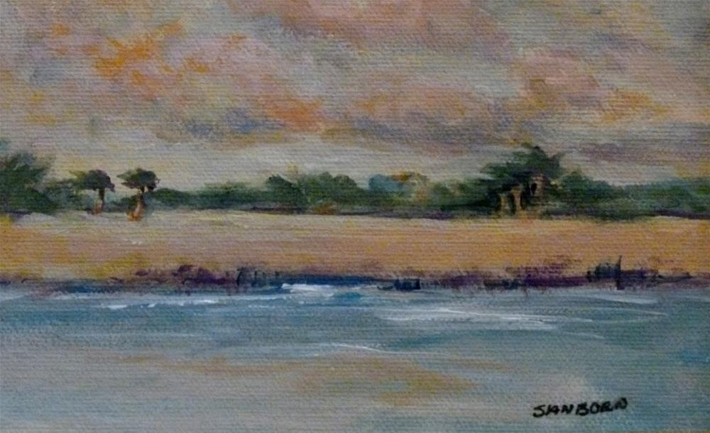 """Soft Morning"" original fine art by Jo-Ann Sanborn"