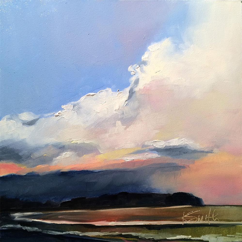 """""""stormy"""" original fine art by Kim Smith"""