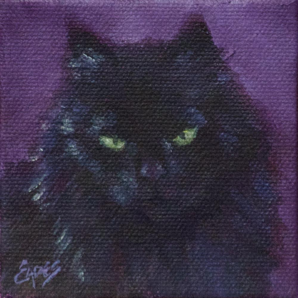 """The Familiar"" original fine art by Linda Eades Blackburn"