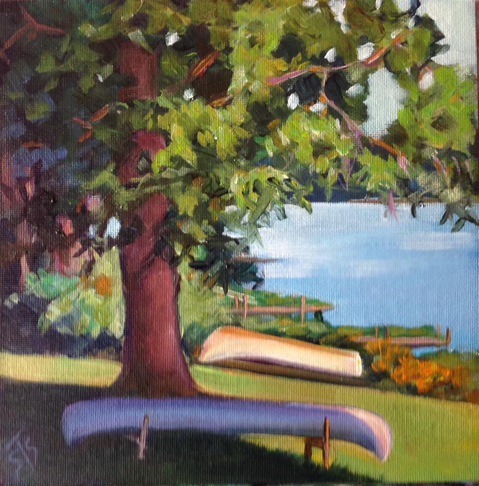 """No Motor Lake"" original fine art by Susan Suraci"