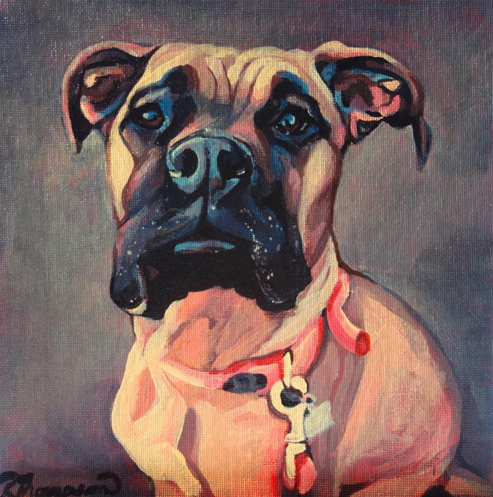"""""""Gypsy"""" original fine art by Rachel Thompson"""