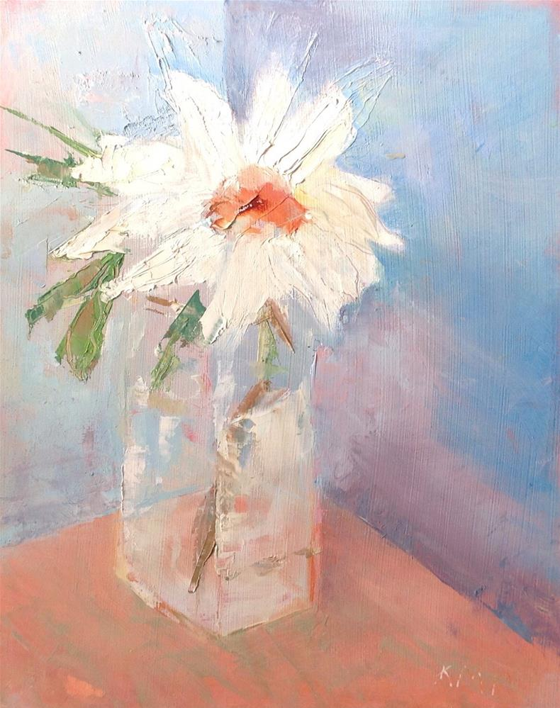 """Daisy"" original fine art by Karen Pinard"