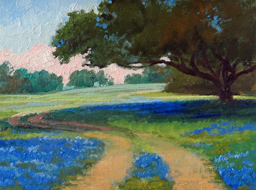 """Road to Hollee's Farm"" original fine art by Nancy Paris Pruden"