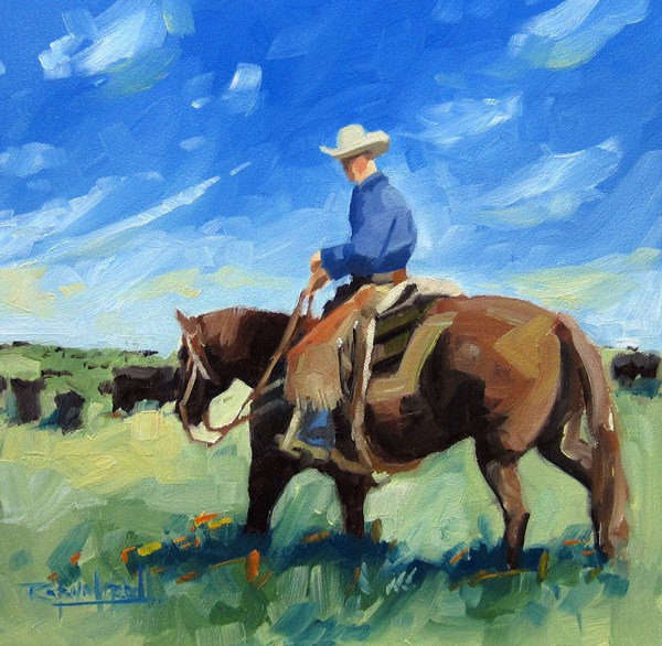 """No 552 You had better Keep UP!"" original fine art by Robin J Mitchell"