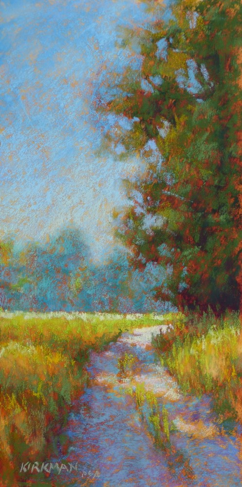 """Day 8 - Ranch Road #22"" original fine art by Rita Kirkman"