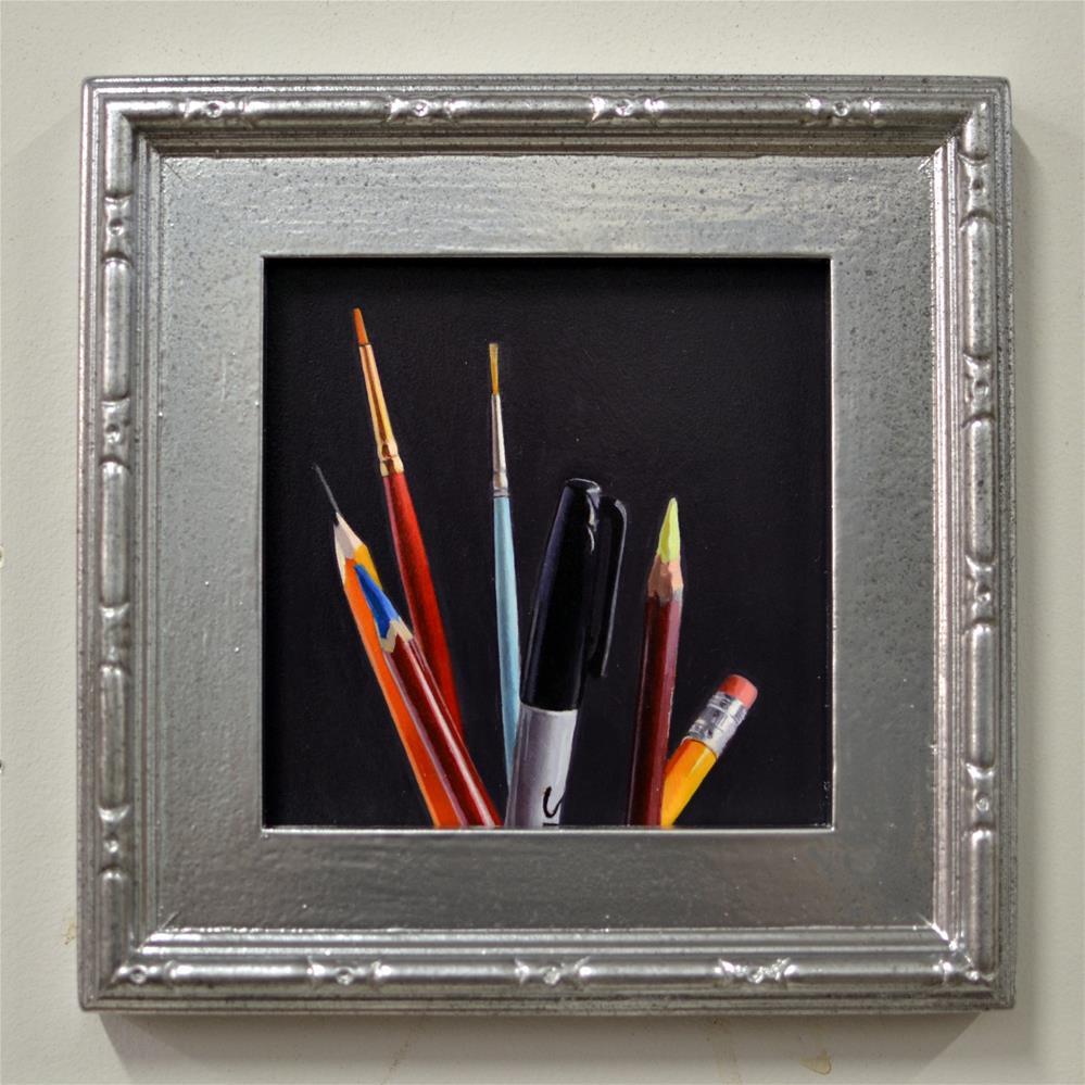 """""""Implements #2 Pre-Purchase (THREE WAYS)"""" original fine art by Brian Burt"""