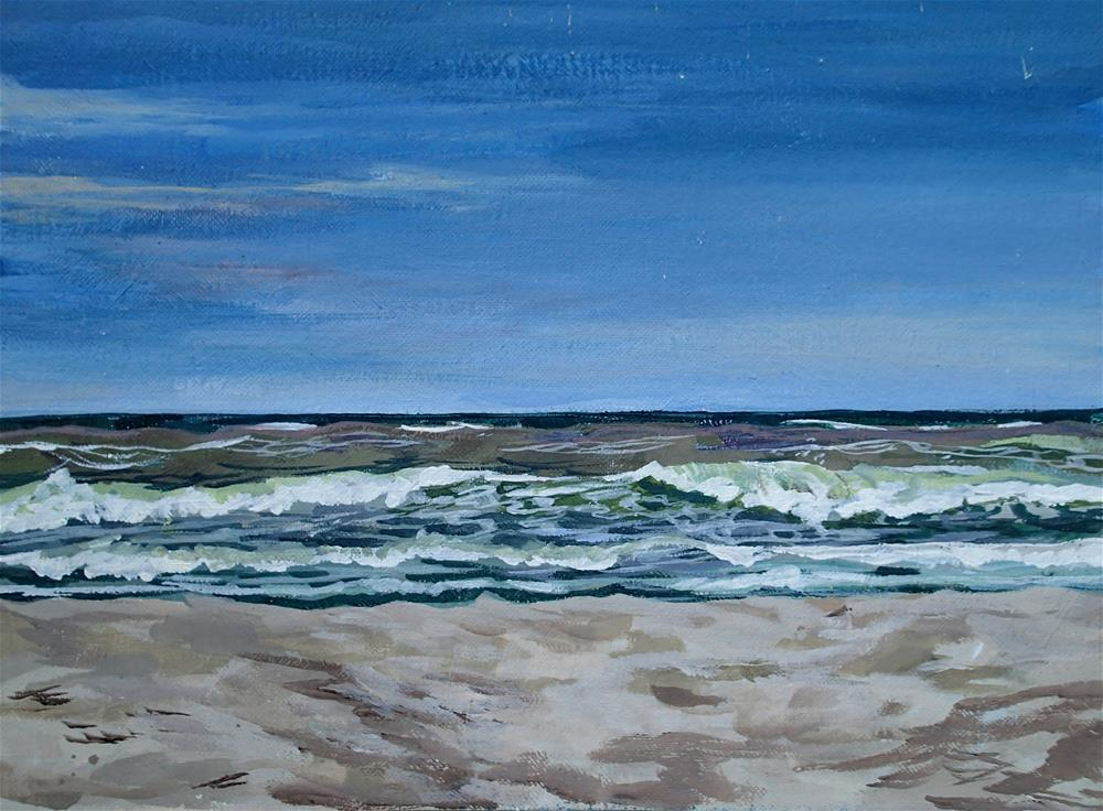 """Outer Banks"" original fine art by Lauren Kuhn"