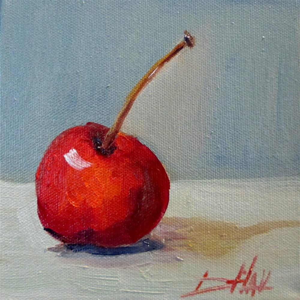 """Cherry"" original fine art by Delilah Smith"