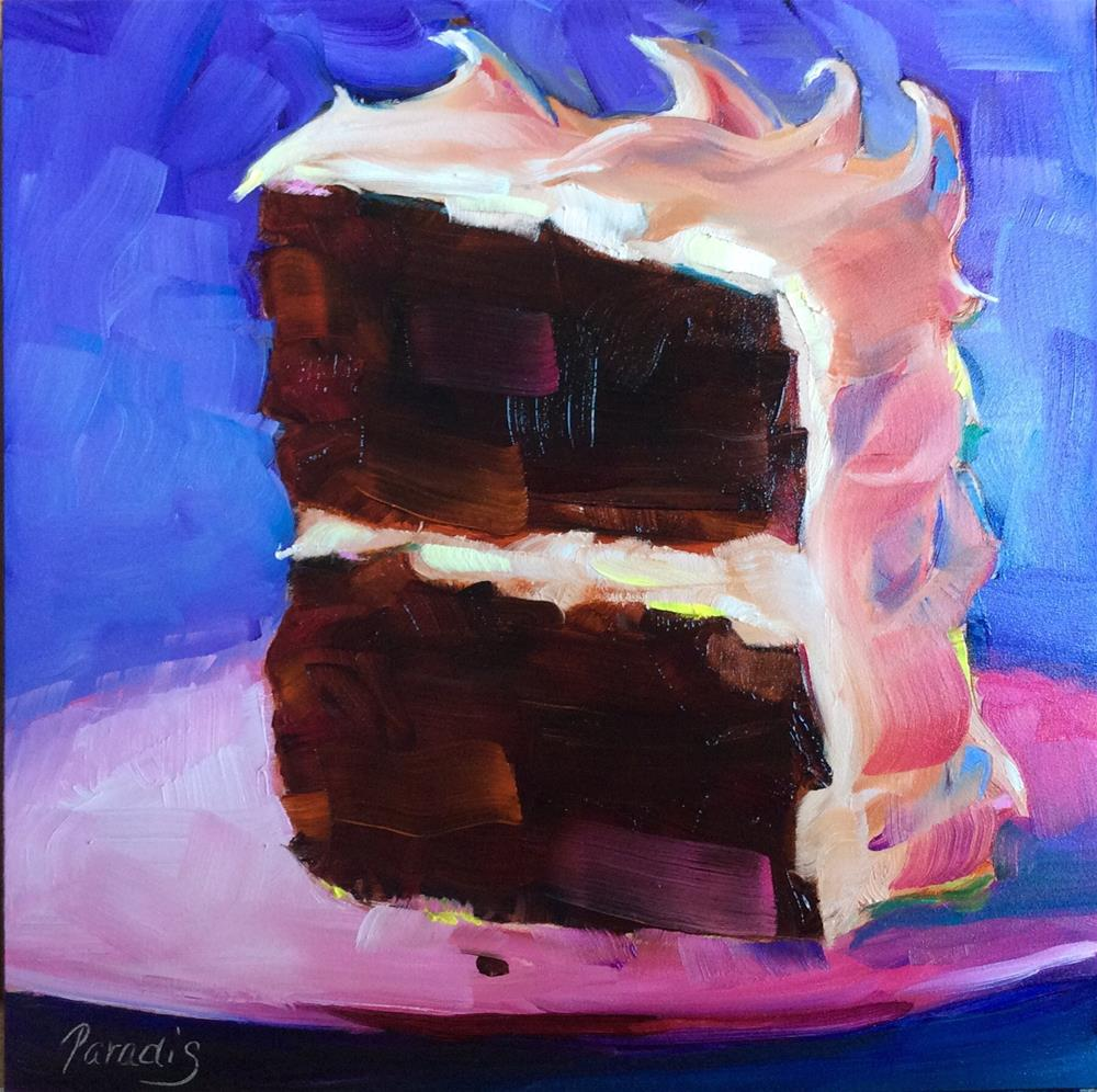 """Mocha Frosting"" original fine art by Rita Paradis"