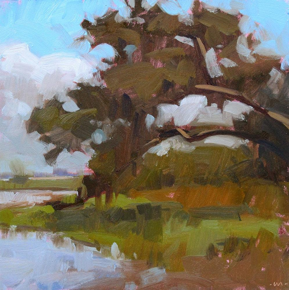 """Edge of the Marsh"" original fine art by Carol Marine"
