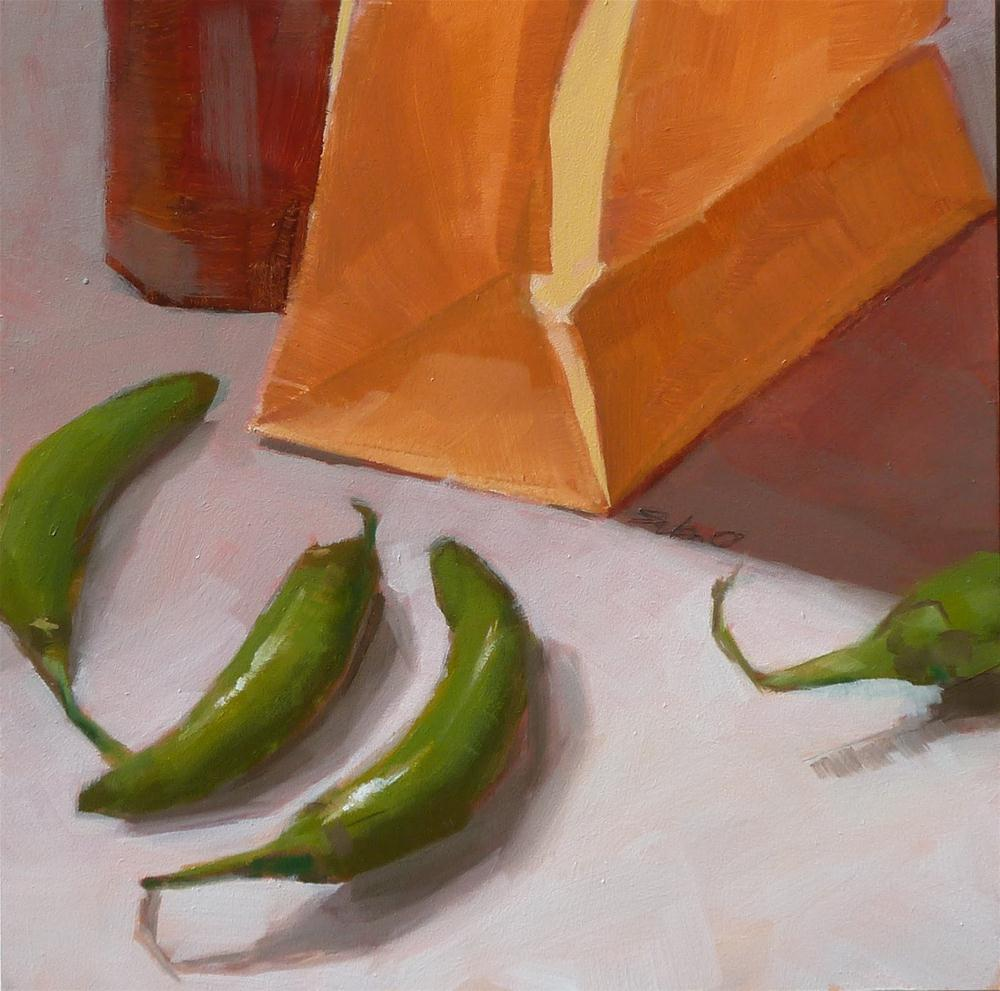 """Brown Paper Bag"" original fine art by Ron Ferkol"