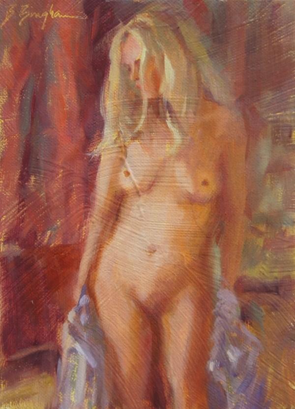 """Dreaming of You"" original fine art by Bruce Bingham"