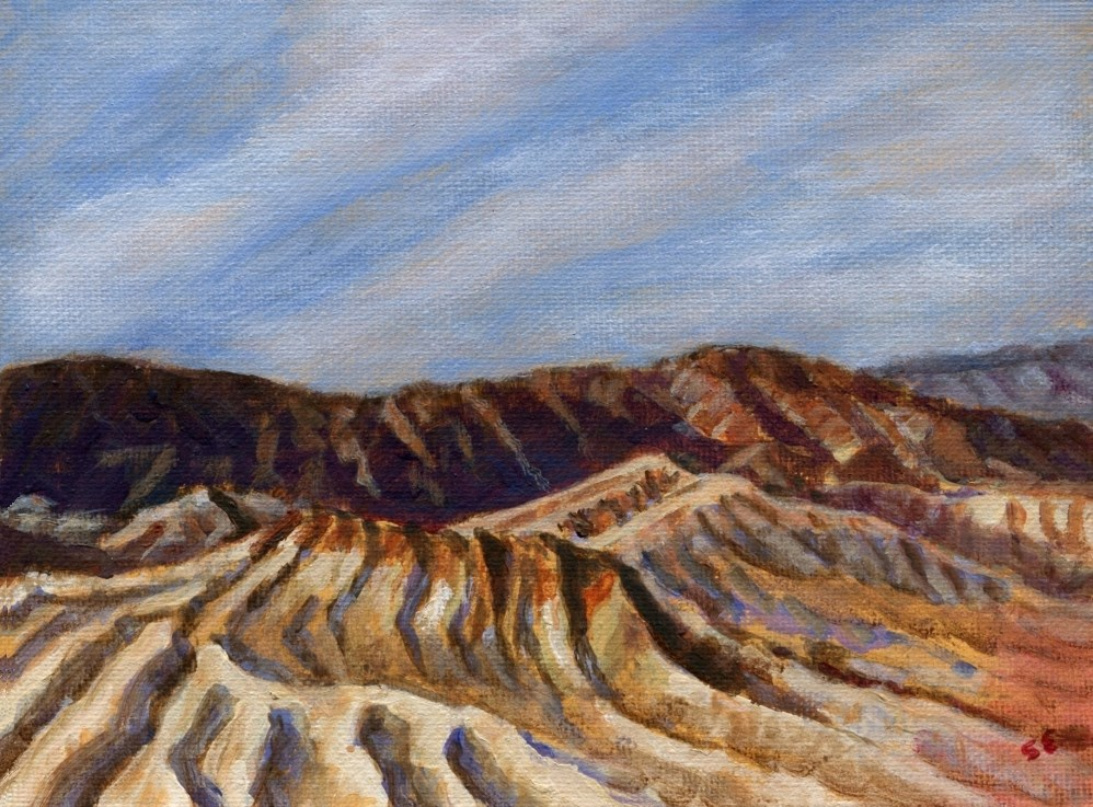 """Death Valley"" original fine art by Stanley Epperson"