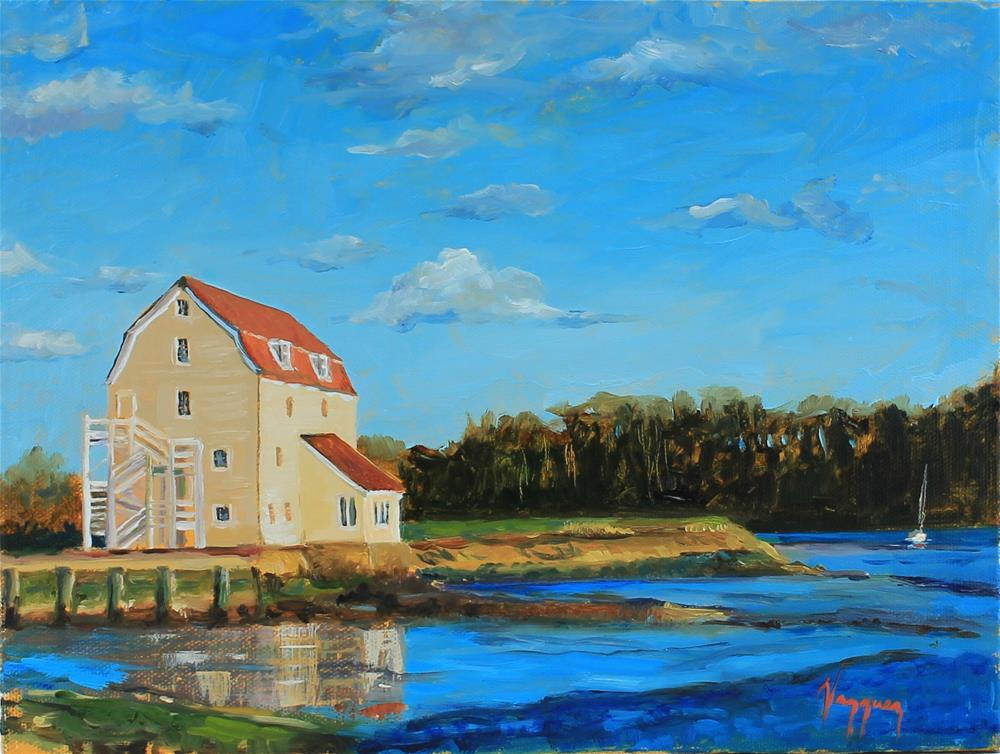 """Woodbridge mill"" original fine art by Marco Vazquez"