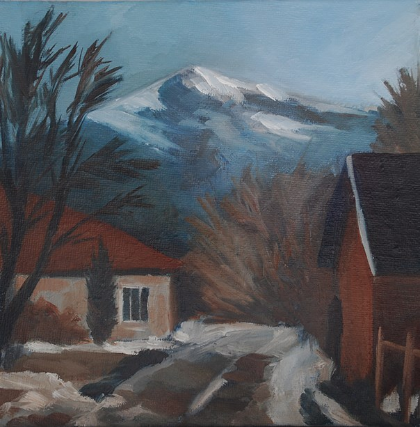"""The End Of Winter"" original fine art by J M Needham"