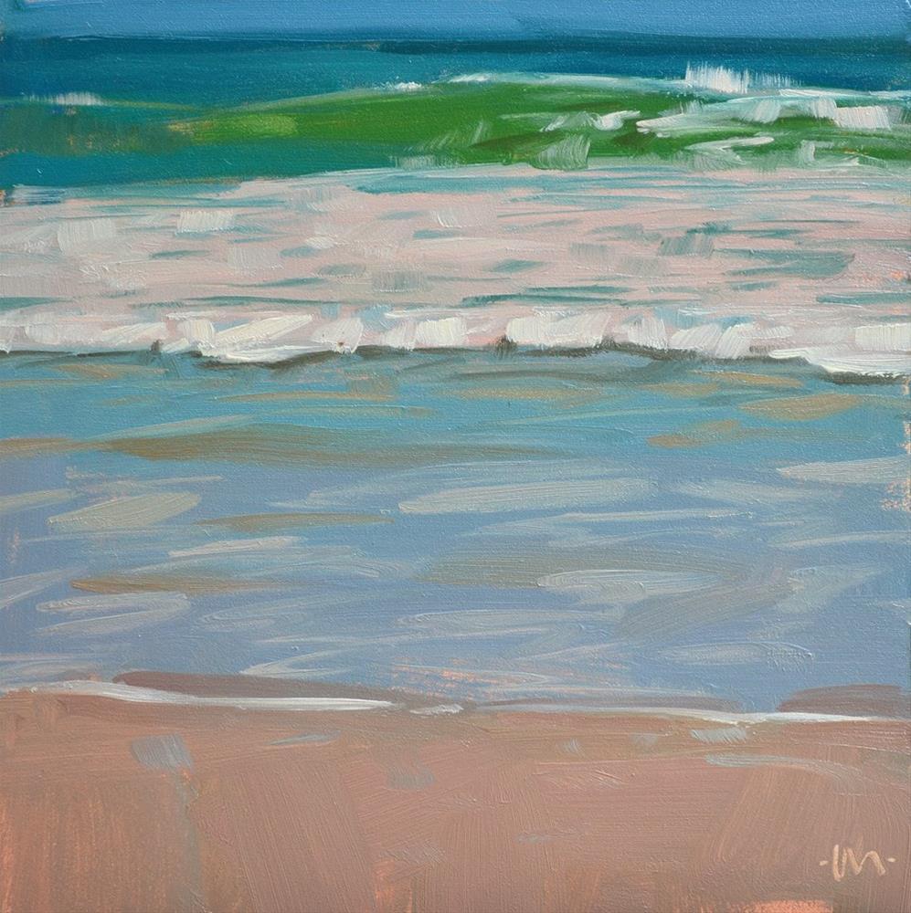 """Sea Slice 1"" original fine art by Carol Marine"