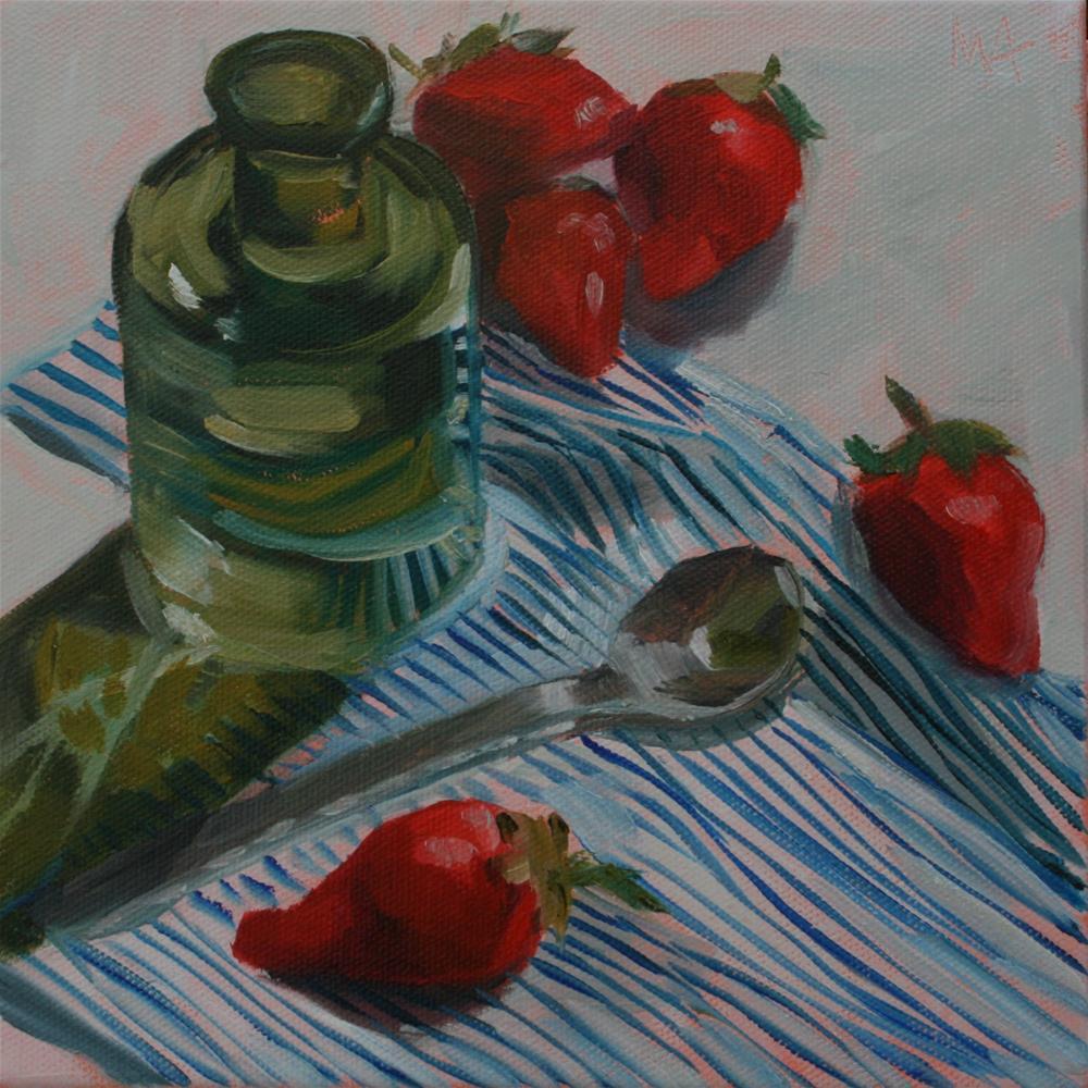 """Medicine"" original fine art by Aniko Makay"