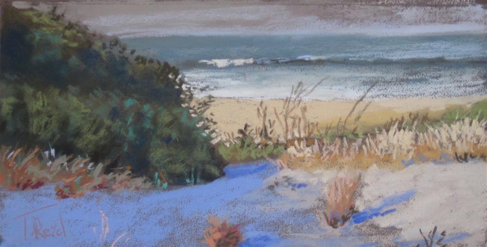 """Afternoon Lights"" original fine art by Toby Reid"