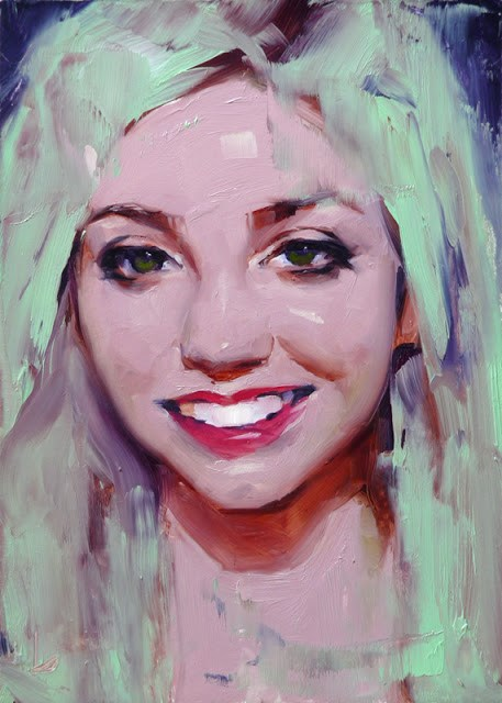 """Smile"" original fine art by John Larriva"