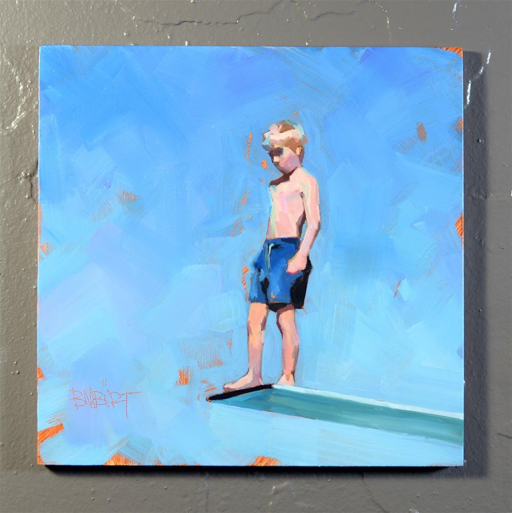"""""""Dive In #2"""" original fine art by Brian Burt"""