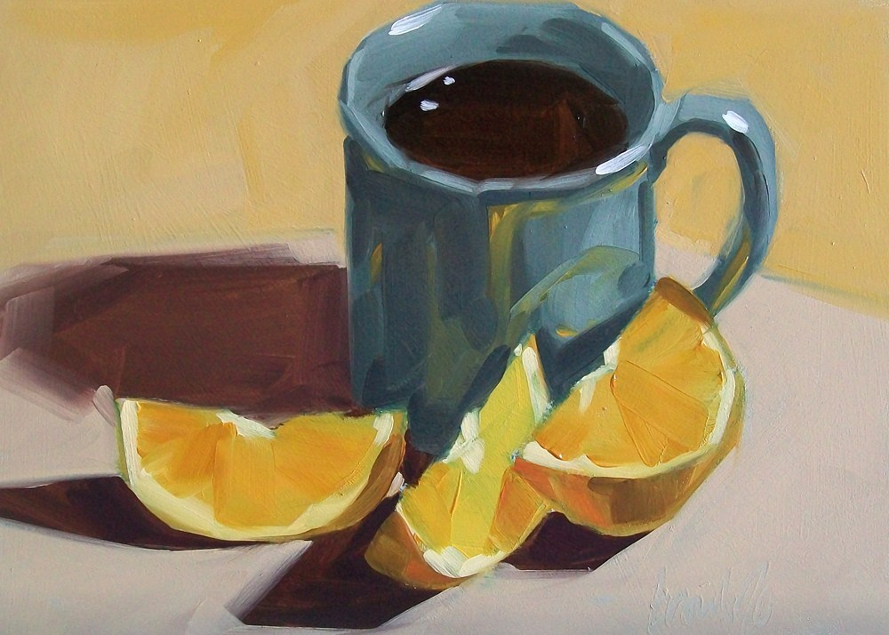 """Autumn morning"" original fine art by Brandi Bowman"