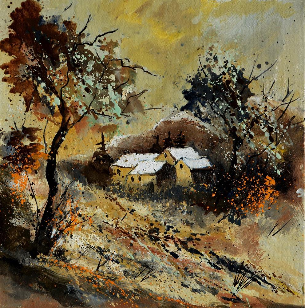 """autumn 446110"" original fine art by Pol Ledent"