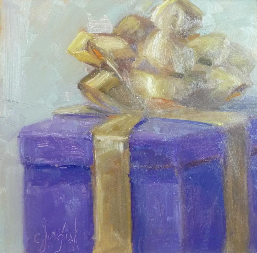 """""""gift #2"""" original fine art by Carol Josefiak"""