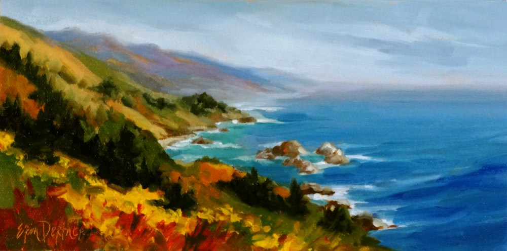 """California Majesty"" original fine art by Erin Dertner"