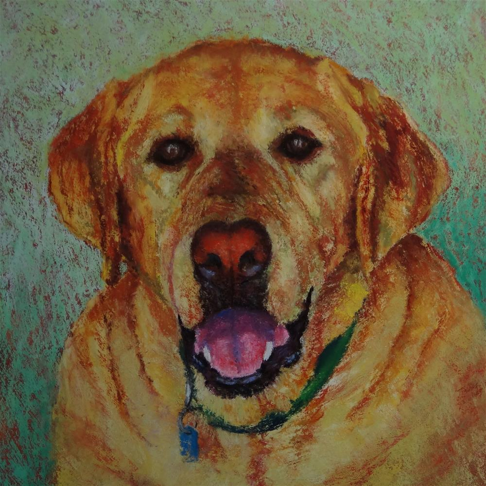 """Pancho"" original fine art by Denise Beard"