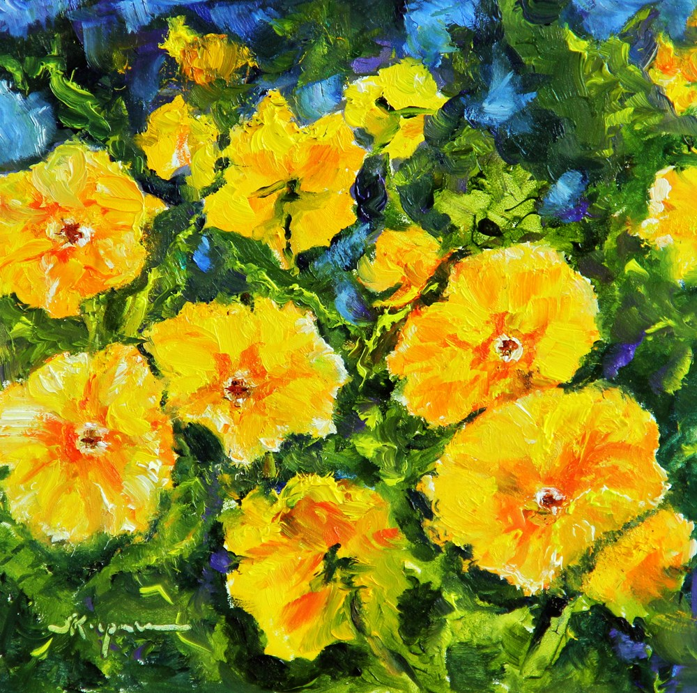 """Spring!"" original fine art by Shelley Koopmann"