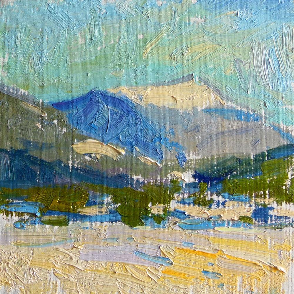 """View From Lily Lake "" original fine art by Michael Clark"