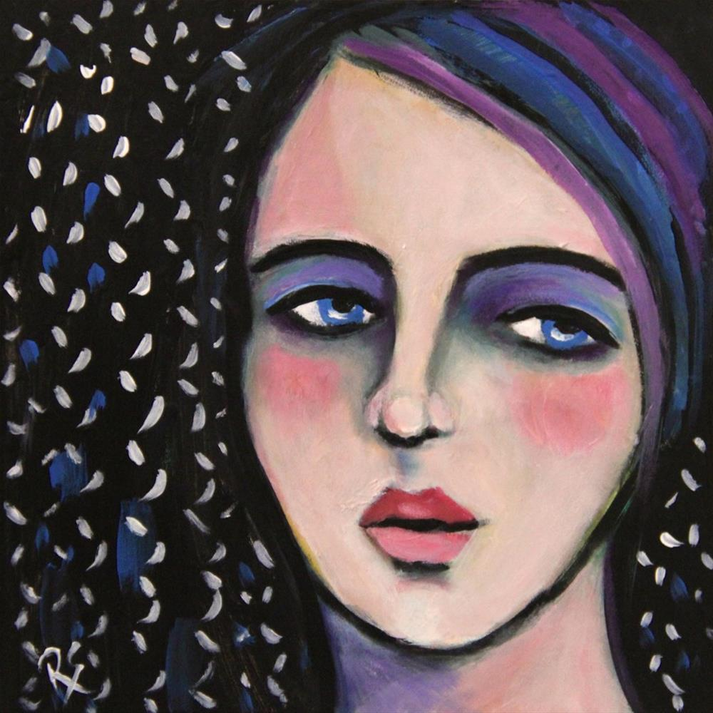 """Daria"" original fine art by Roberta Schmidt"