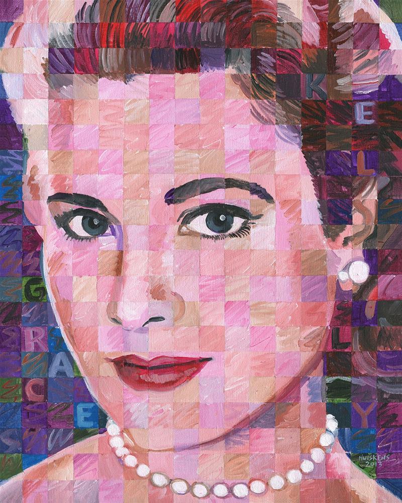 """""""Grace Kelly"""" original fine art by Randal Huiskens"""