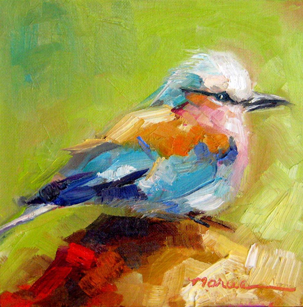 """Little Bird"" original fine art by Marcia Hodges"