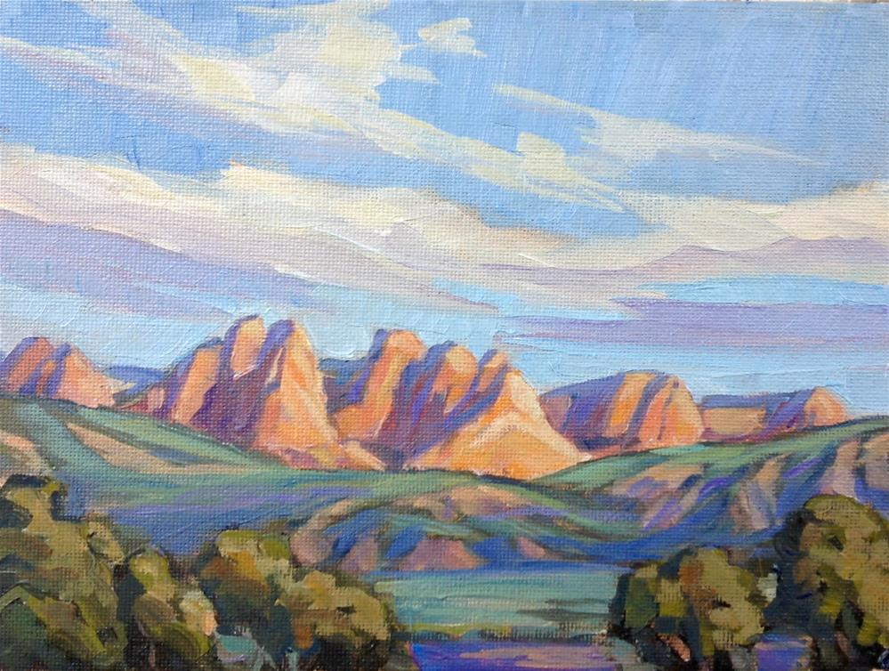 """Kolob Fingers"" original fine art by Valerie Orlemann"