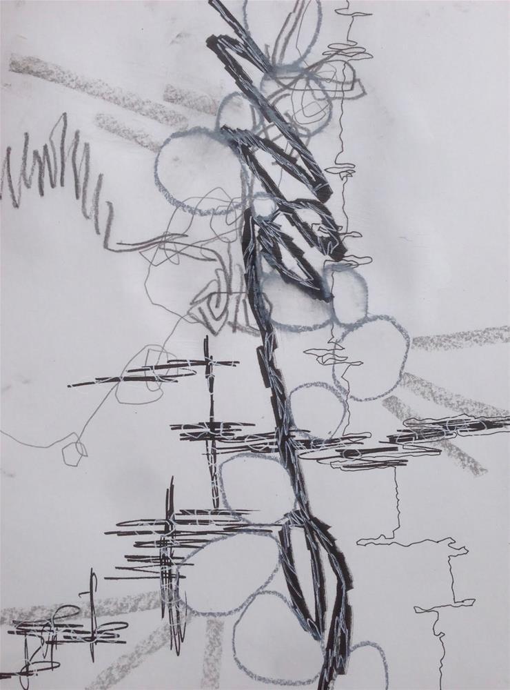 """""""Rustling Up Some Focus"""" original fine art by Dotty  Seiter"""