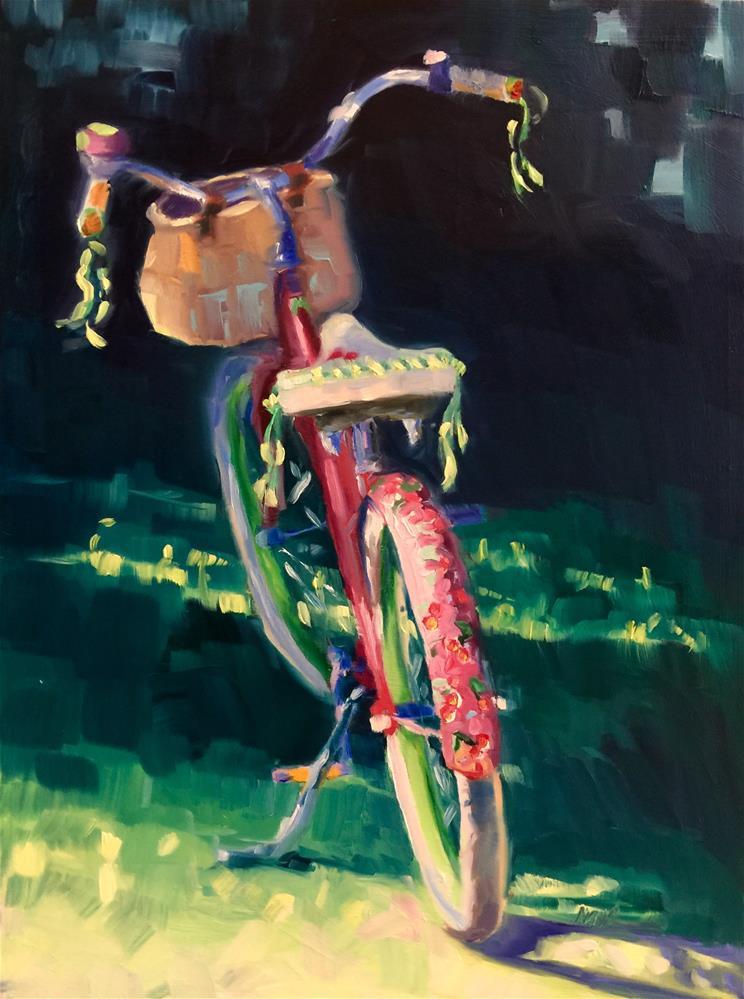 """Cherry Cruiser "" original fine art by Mb Warner"