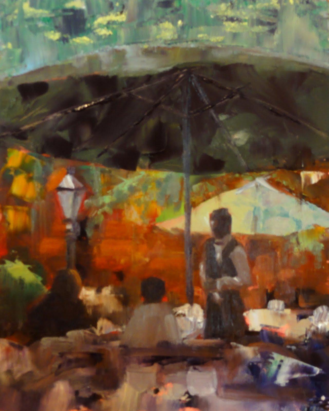 """Tishomingo Blues, 8x10"" original fine art by Ann Feldman"